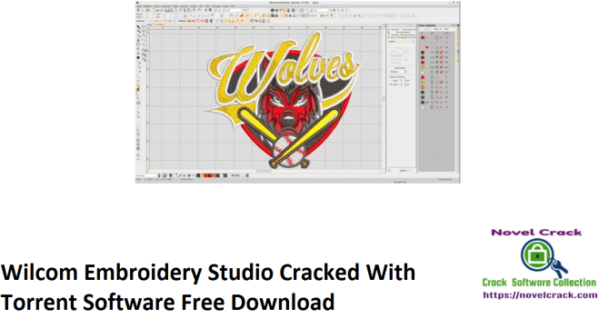 Wilcom Embroidery Studio Cracked With Torrent Software Free Download