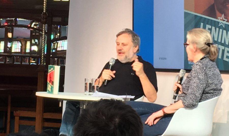 Žižek auf der Frankfurter Buchmesse 2018
