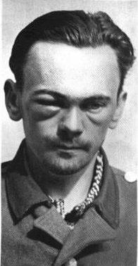 Henry Rinnan nach seiner Verhaftung 1945