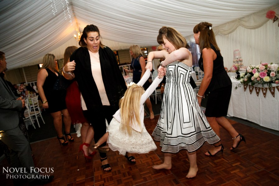evening reception dancing