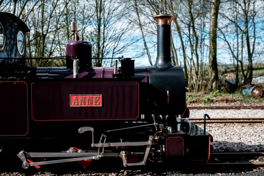perrygrove railway steam train