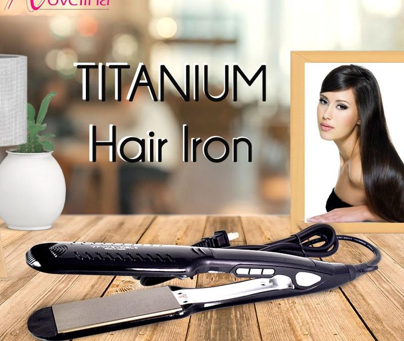 Titanium Hair Iron: Your Dependable Hair Straightener