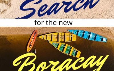 Search for the New Boracay