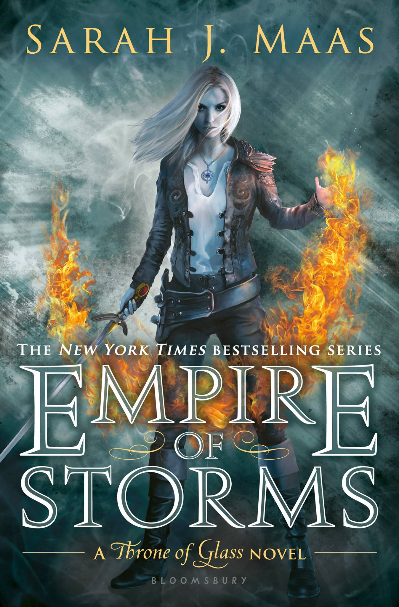 #29 Waiting on… Empire of Storms by Sarah J. Maas