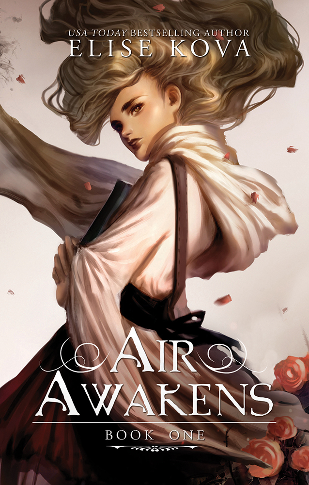 Cover ❤️ Air Awakens series by Elise Kova