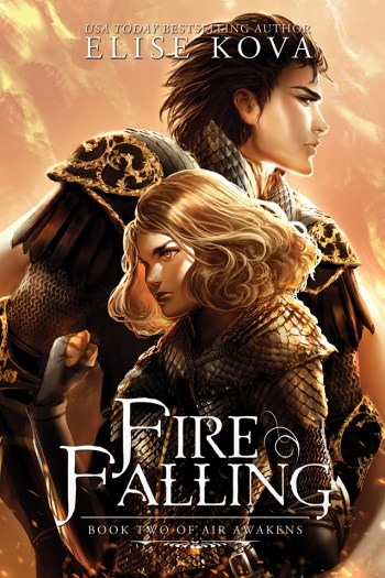 Review – Fire Falling by Elise Kova