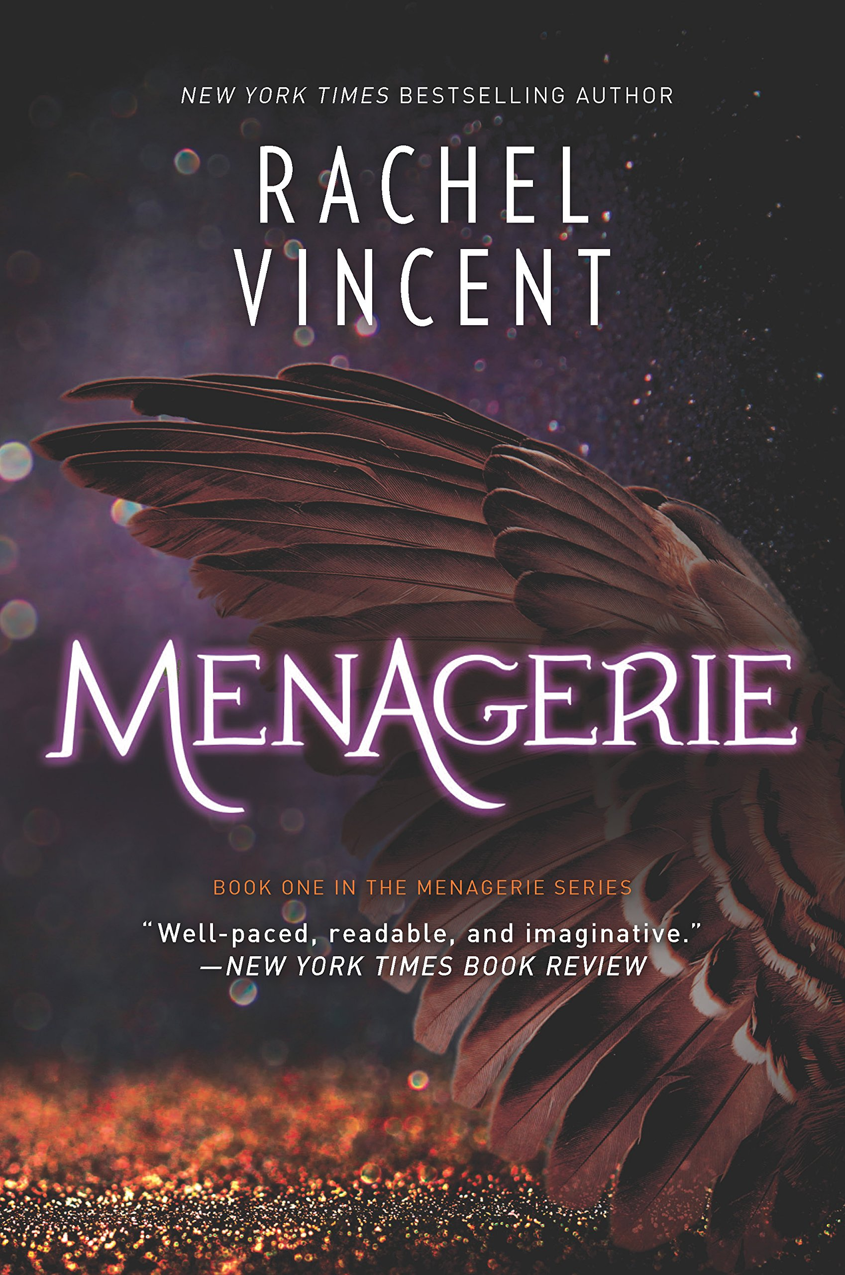 Review – Menagerie by Rachel Vincent