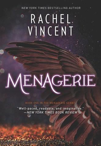 Review – Menagerie by Rachel Vincent