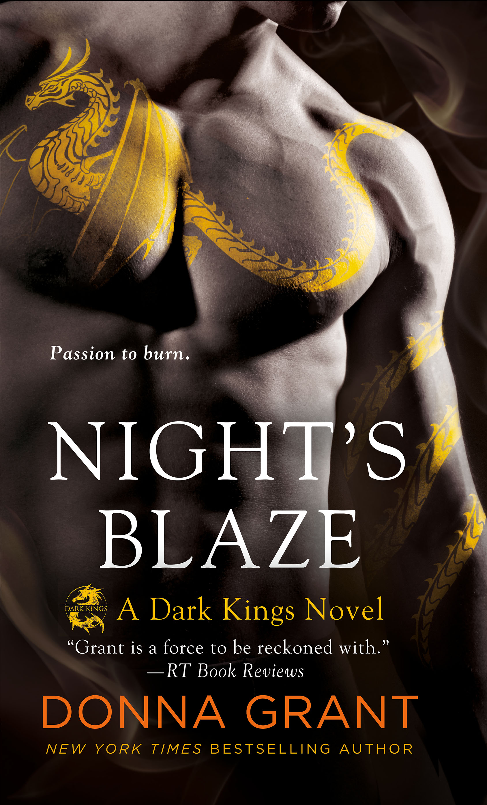 Review – Night's Blaze by Donna Grant