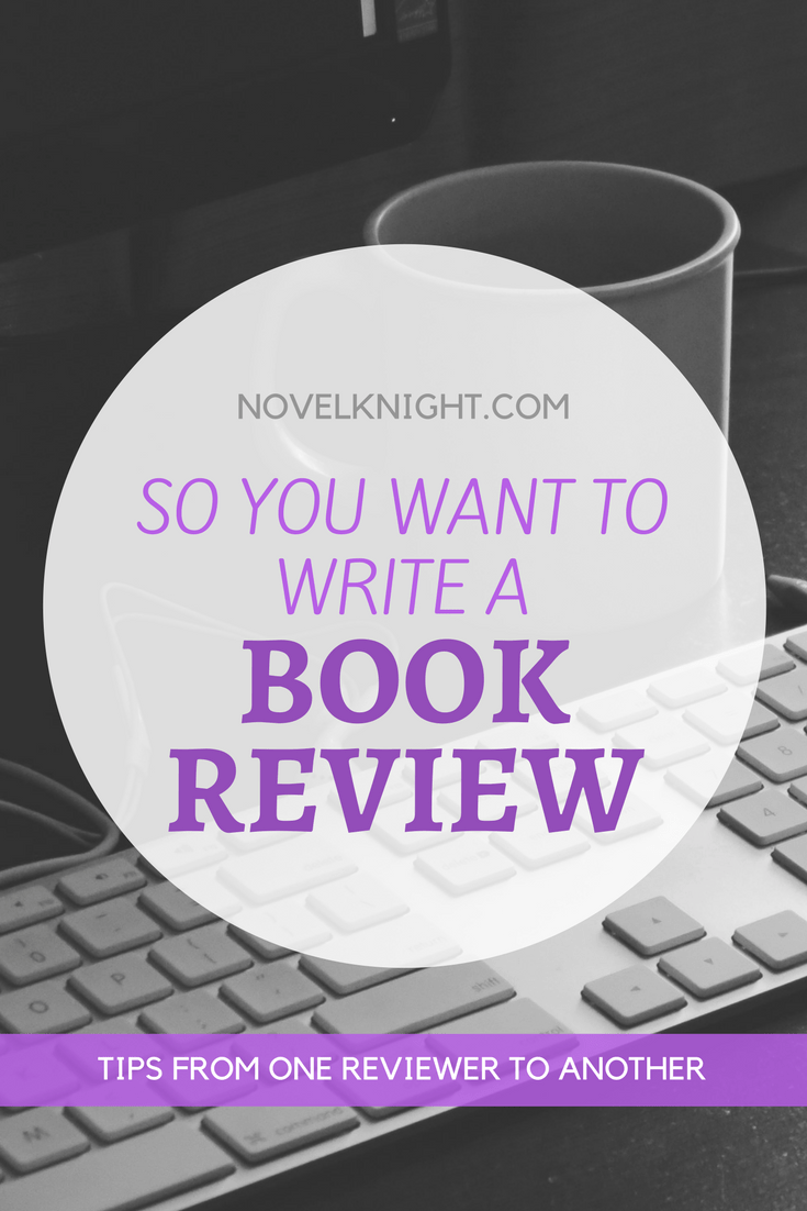So You Want to Write a Book Review…
