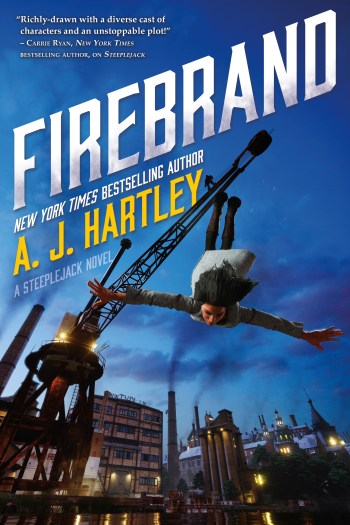 Review – Firebrand by A.J. Hartley