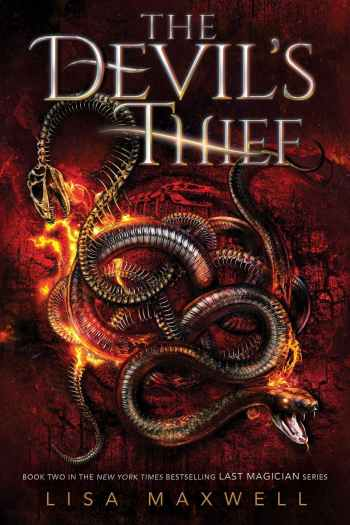 Thieves and Mageus and Stones, Oh My!   The Devil's Thief by Lisa Maxwell (+ Giveaway!)