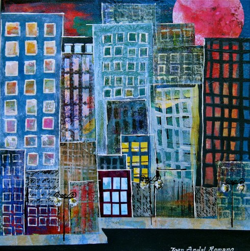 In The City3 12x12 Joan Andal Romano
