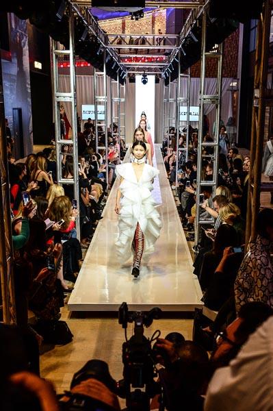 Evik asatoorian wedding dress