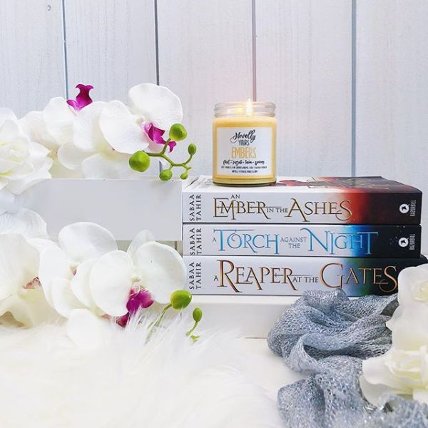 Embers soy candle