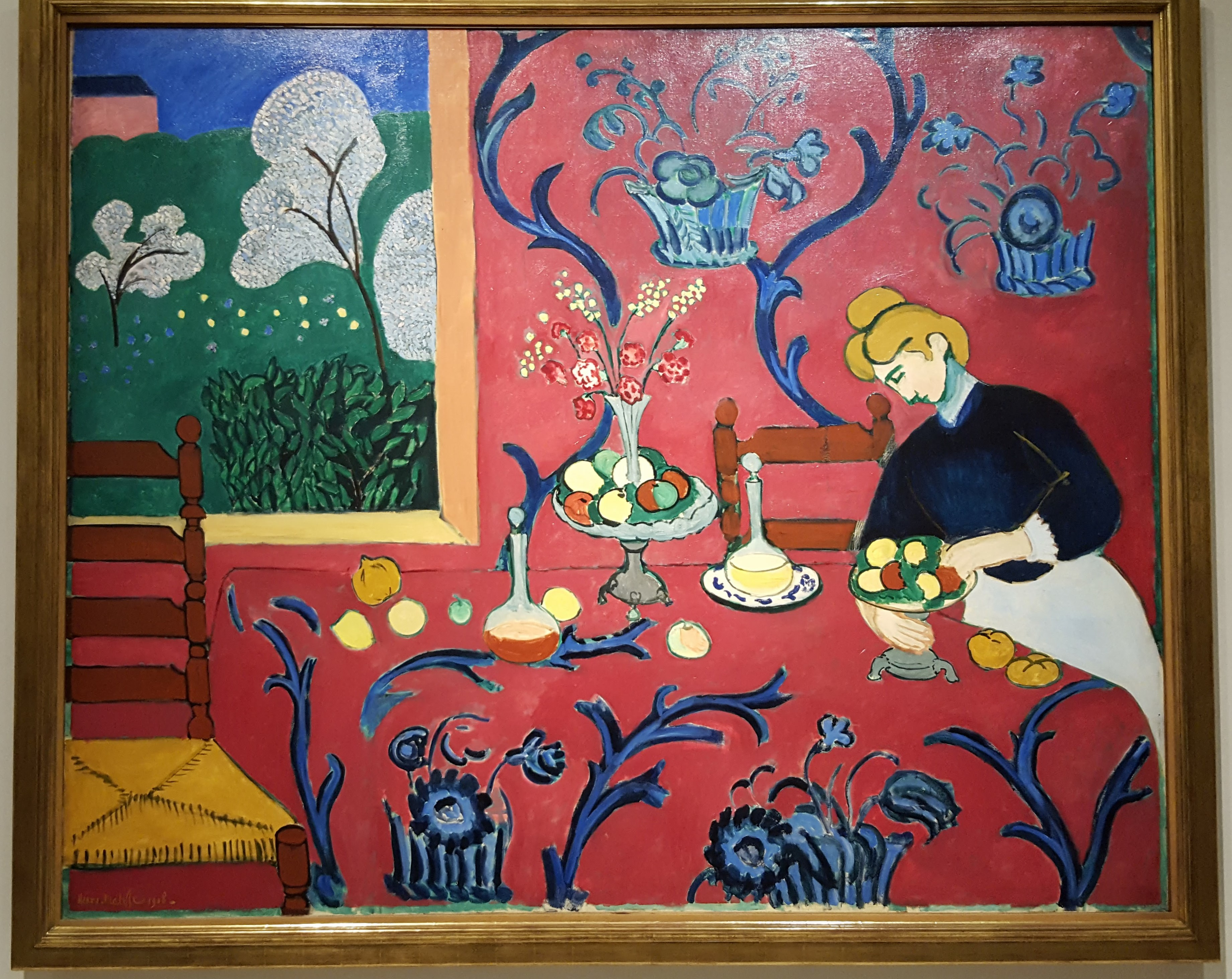 Matisse, The Dessert, 1908