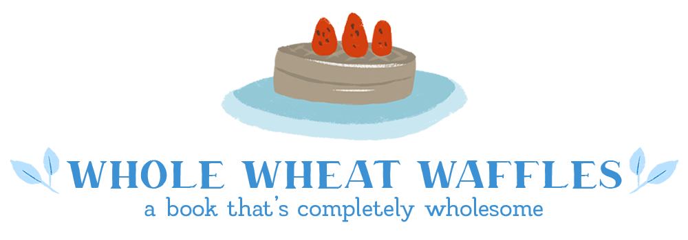 waffle book tag whole wheat waffles