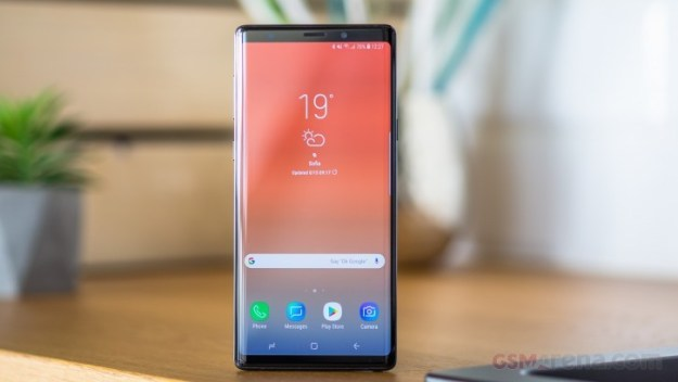 Samsung Galaxy Note9 carrier-locked units receiving Android 10 in the US
