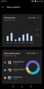 New features: Game Statistics