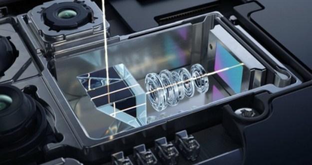 Periscope camera on the Xiaomi Mi 10 Youth Edition