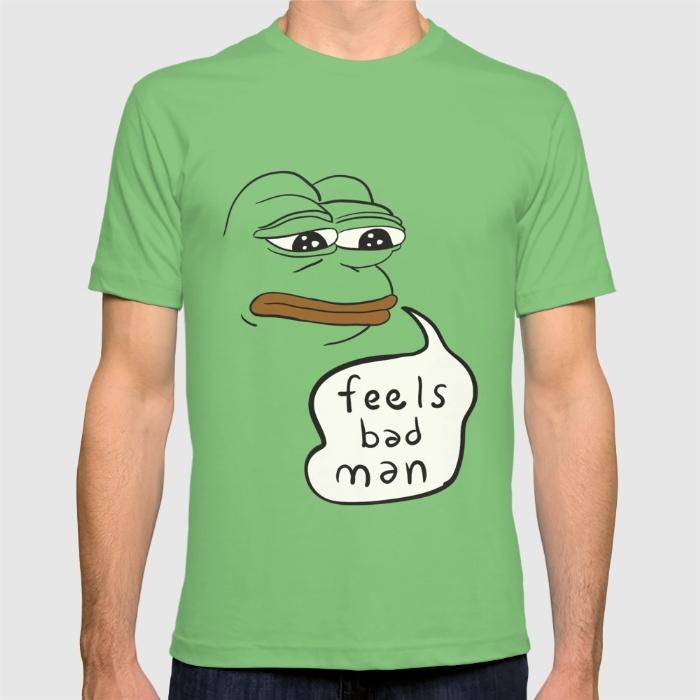 Feels Bad Man – Pepe the frog t-shirt