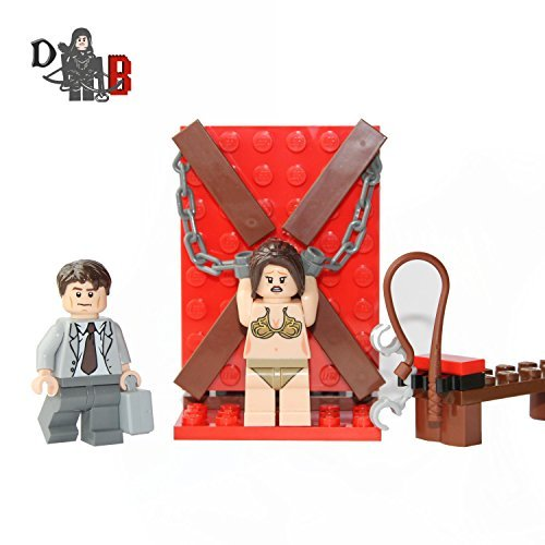 Custom Fifty Shades of Grey Lego Mini set