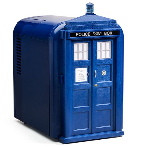 Mini Tardis Fridge