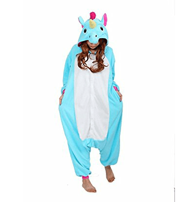 Adult New Purple Unicorn Onesie Pajamas