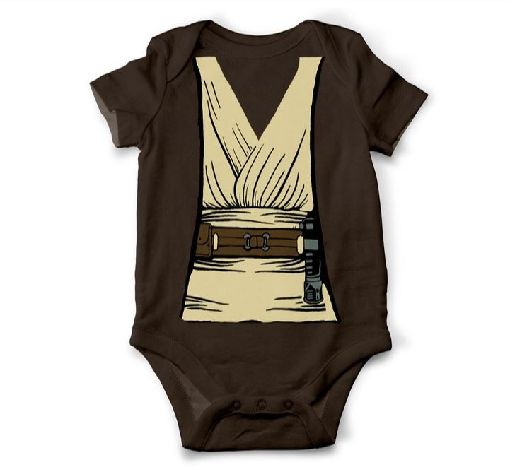 Star Wars Jedi Knight Inspired Costume Onesie