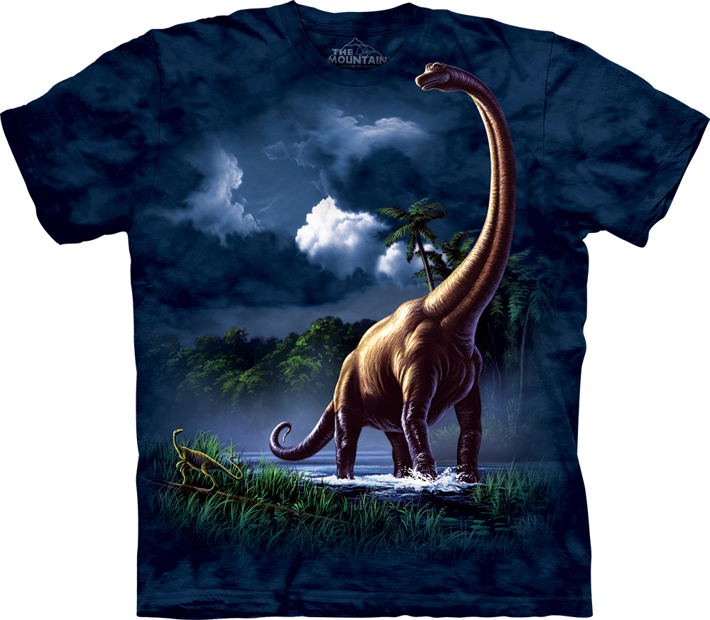 The Mountain Brachiosaurus T-Shirt