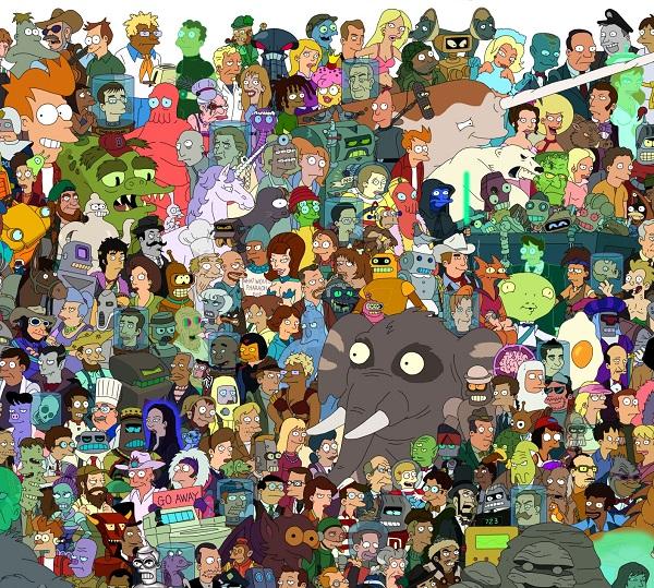 Giant Futurama Poster