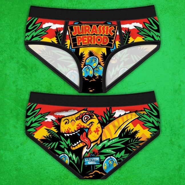 Jurassic Period Panties