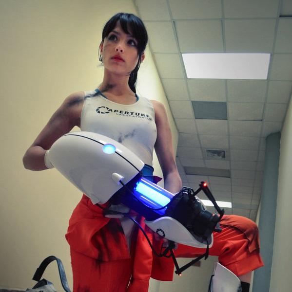 Portal 2 Gun Replica