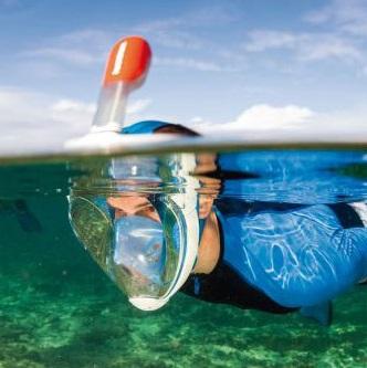 Easy Breathing Snorkel Mask