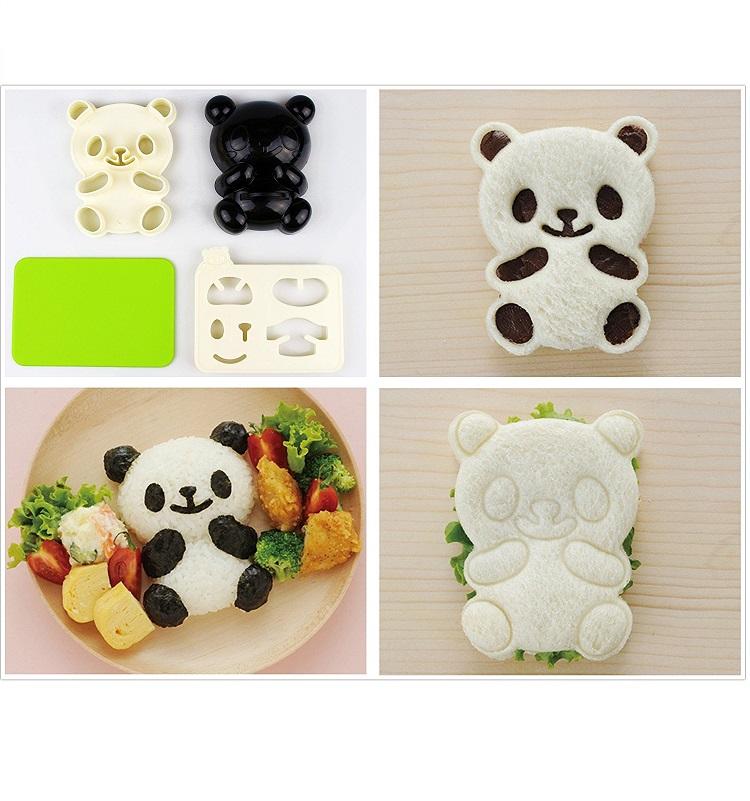 Panda Toast Mold
