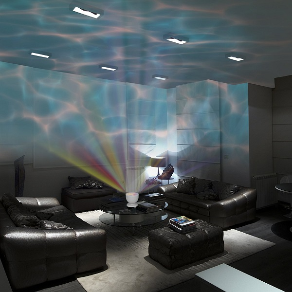 Relaxing Waves Projector