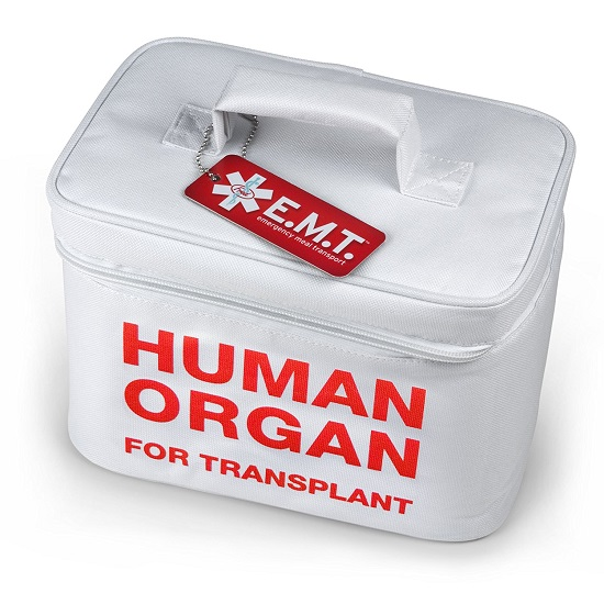 Human Organ For Transplant Lunch Bag