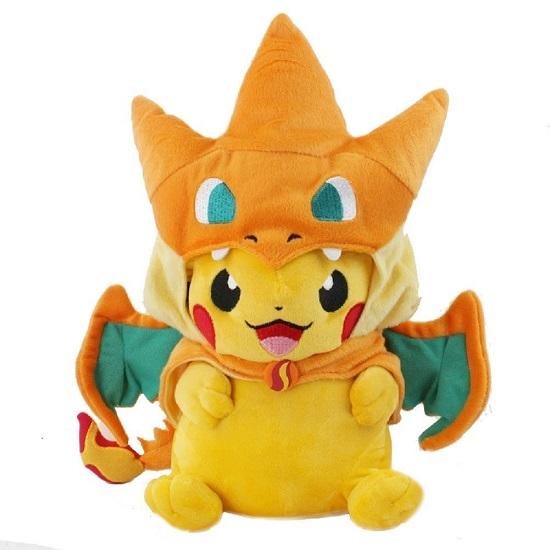 Mega Pikachu Charizard Plush
