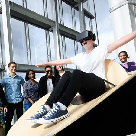 VR at the Shard