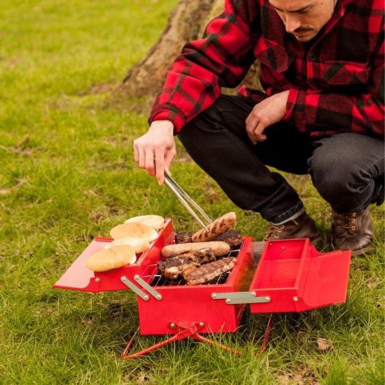 Portable Toolbox BBQ