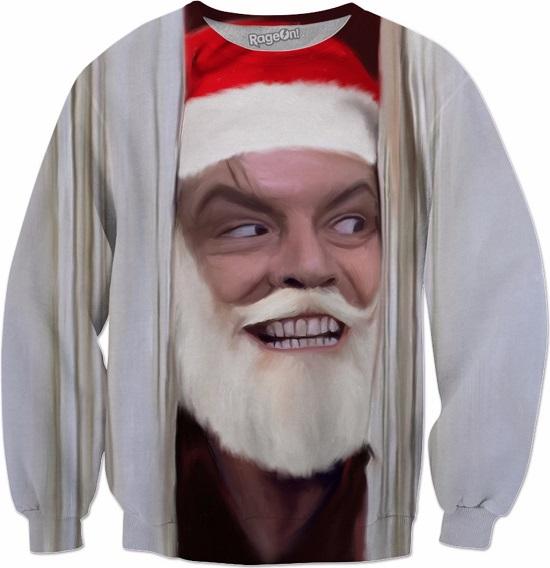 Heeere's Santa Crewneck Sweatshirt
