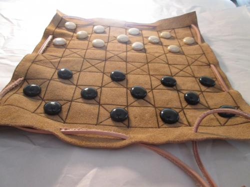 Checkers Game Pouch