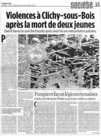 29.10.2005 - Violences à Clichy, Libération