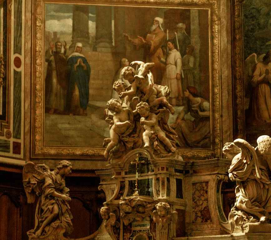 statue inside room