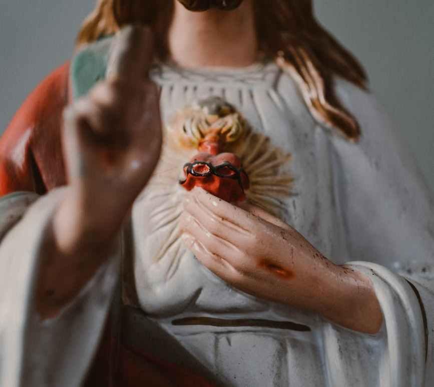 jesus christ figurine