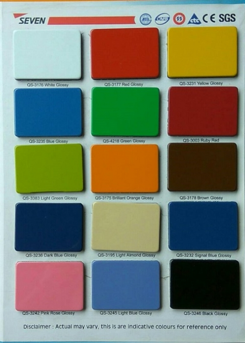 Pilihan Warna Seven Aluminium Composite Panel 3