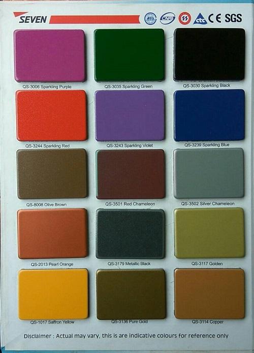 Pilihan Warna Seven Aluminium Composite Panel