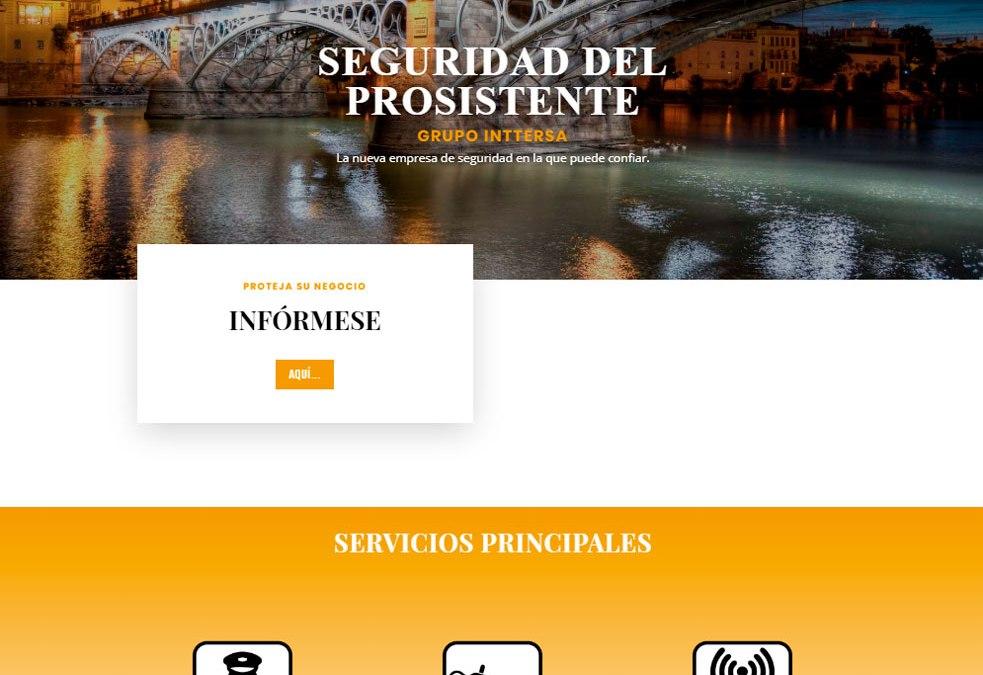 Prosintter noventa.es diseño web