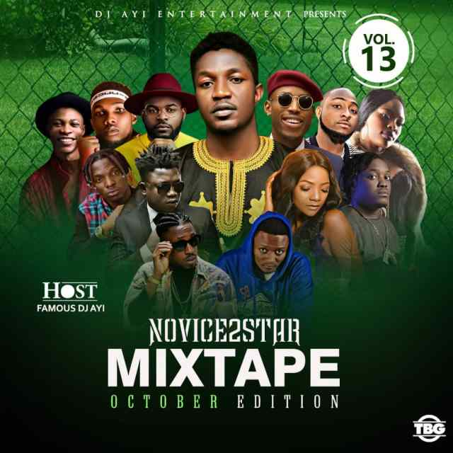 Novice2STAR x DJ Ayi – October Naija Mixtape