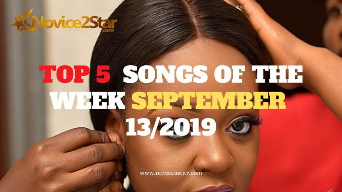 Top 5 Nigerian Songs Of The Week – September 13 2019 Chart